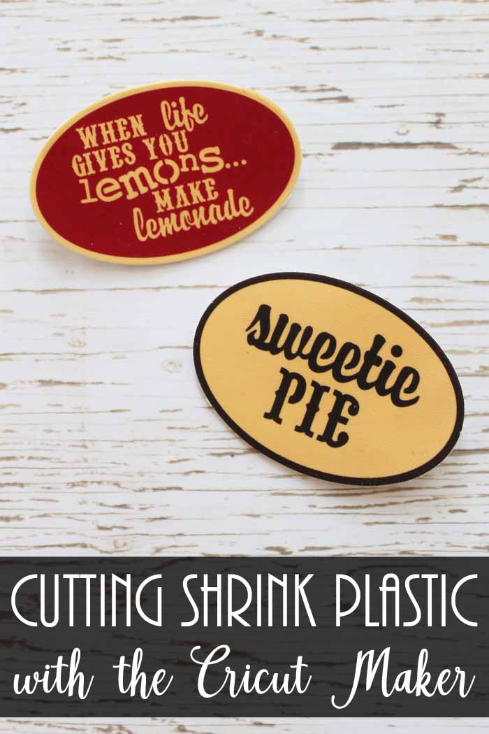 how to cut shrink plastic with the cricut maker