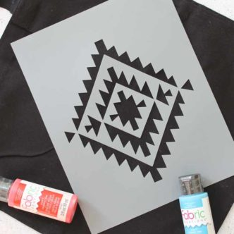 how to cut stencils with the Cricut Maker