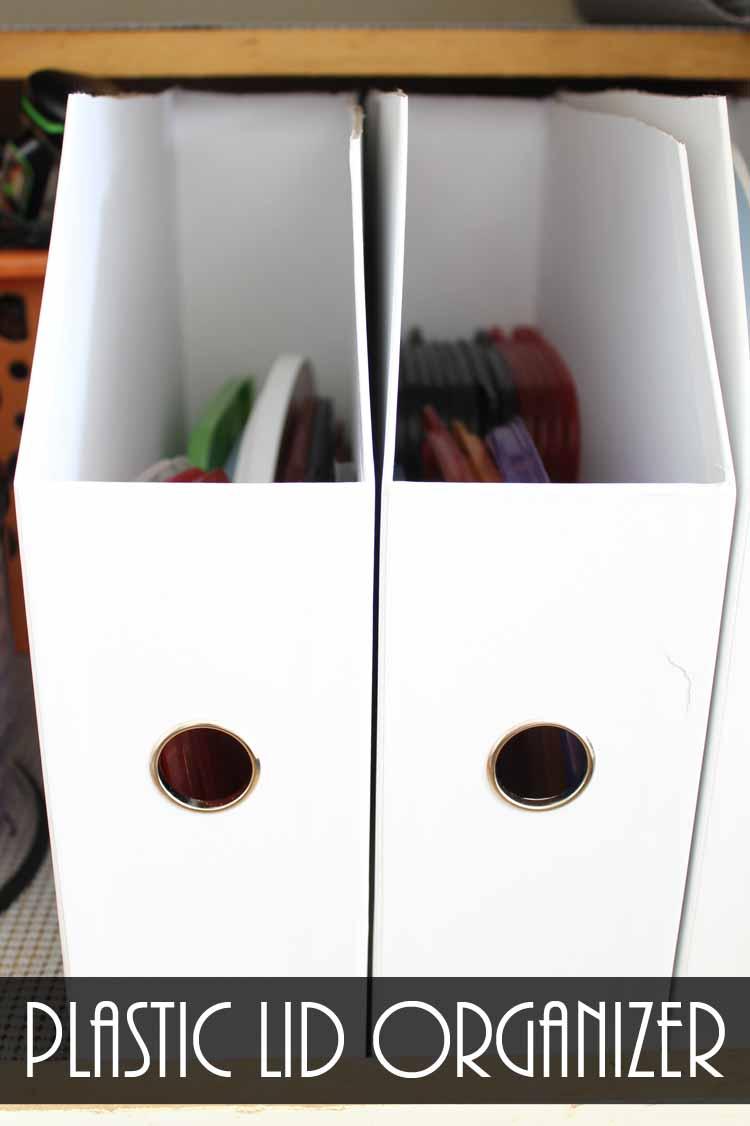 kitchen cabinet accessories to store plastic lids