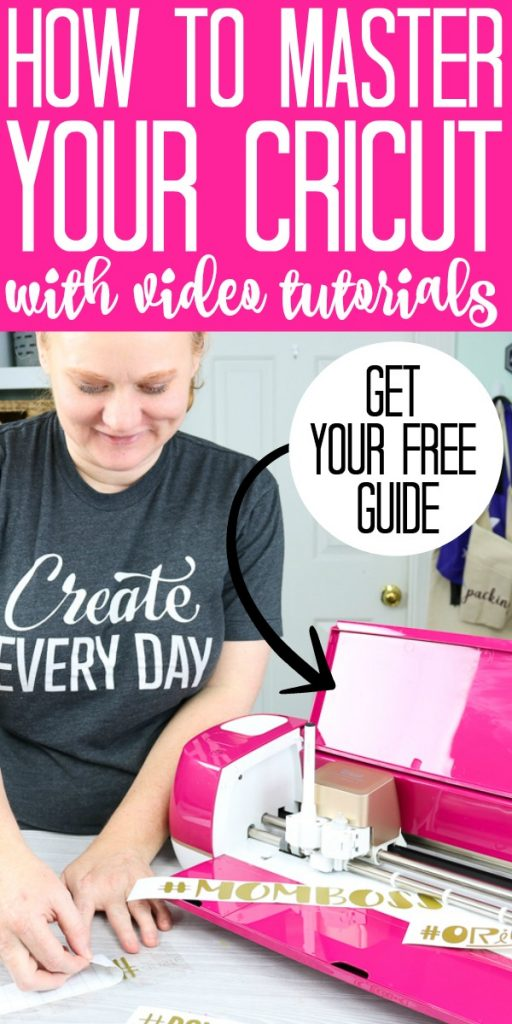 Learn how to use your Cricut Machine with these video tutorials! From the Cricut Maker to the Explore, you will learn how to design your projects in Cricut Design Space and more!