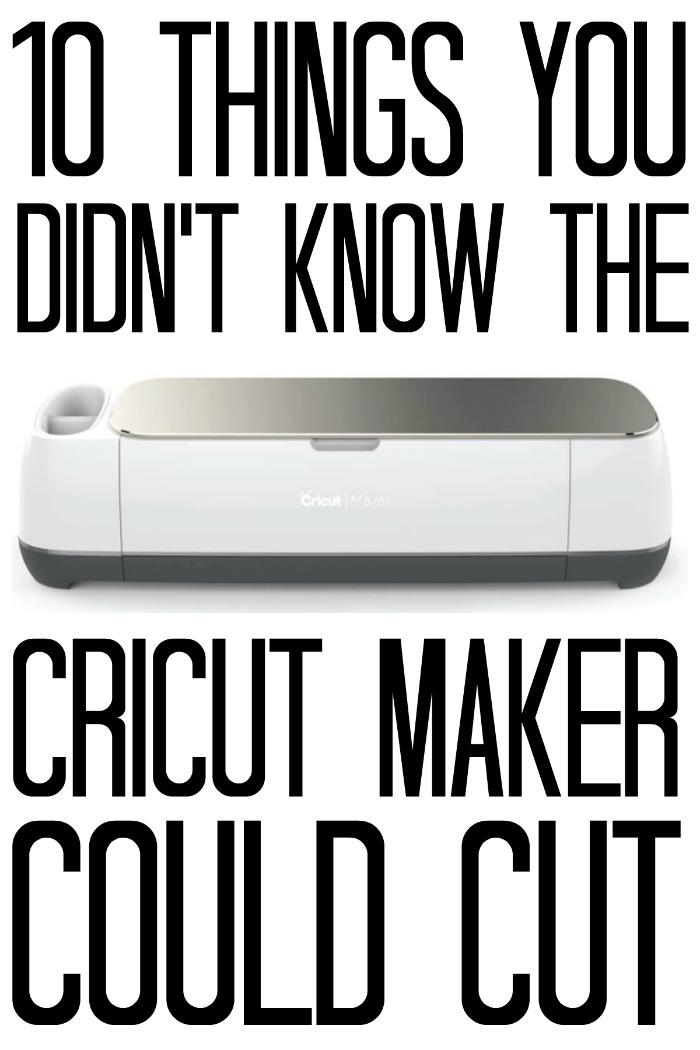 what can a Cricut Maker do