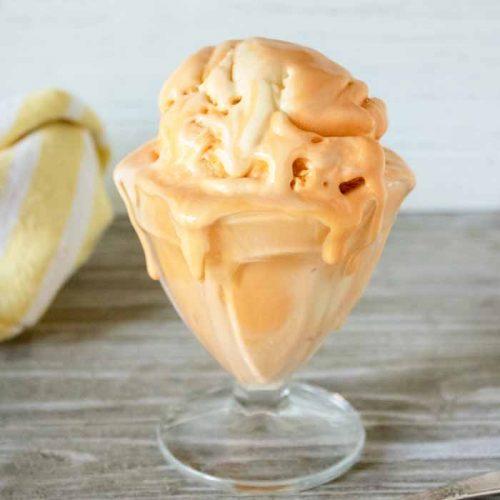orange ice cream recipe