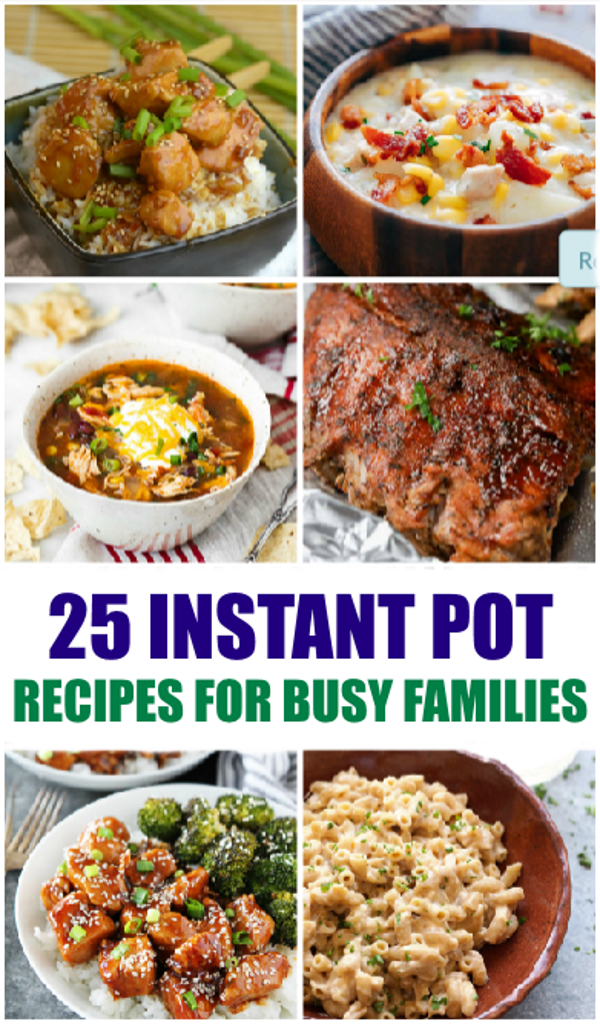 instant pot recipes for busy families