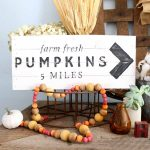 Beaded Garland for Your Fall Decor