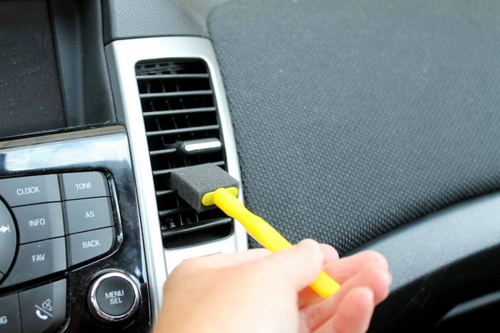 Our tops tricks and tips for car detailing at home!  The best part is you probably have all of these supplies on hand already!