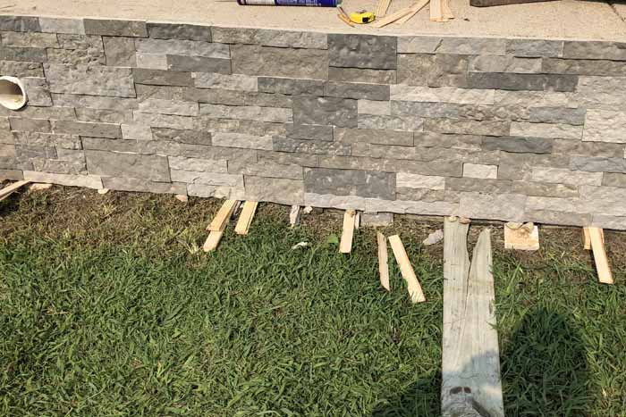 Use these tips and tricks for applying exterior stone veneer to the surfaces around your home! Increase your home's value with additional curb appeal!