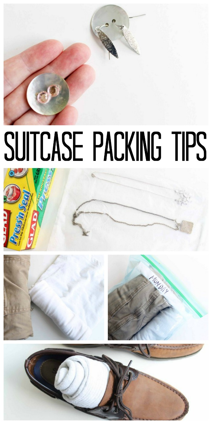 Great suitcase packing tips for your next trip! Travel has never been so easy and your luggage will thank you!