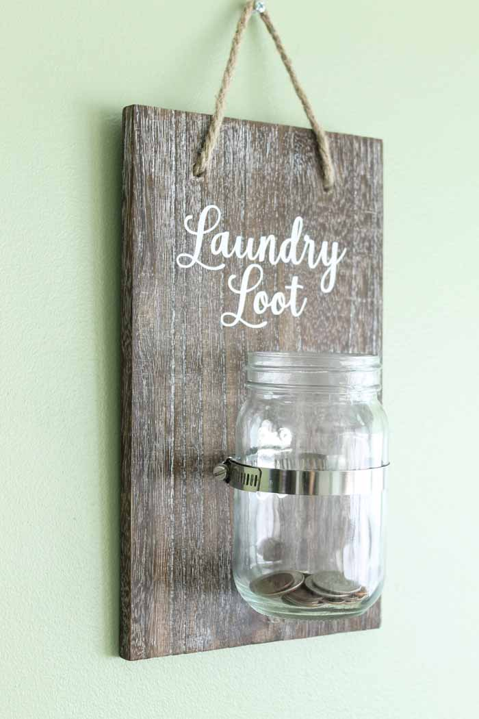 cricut laundry room art