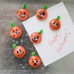 Easy Halloween Crafts for Kids: Magnet Pumpkin Craft