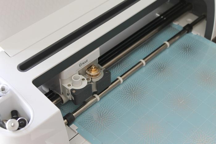 cutting acetate with a cricut machine