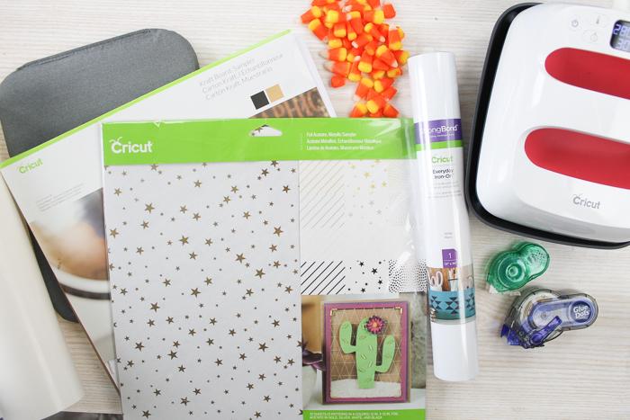 cricut supplies for halloween crafts