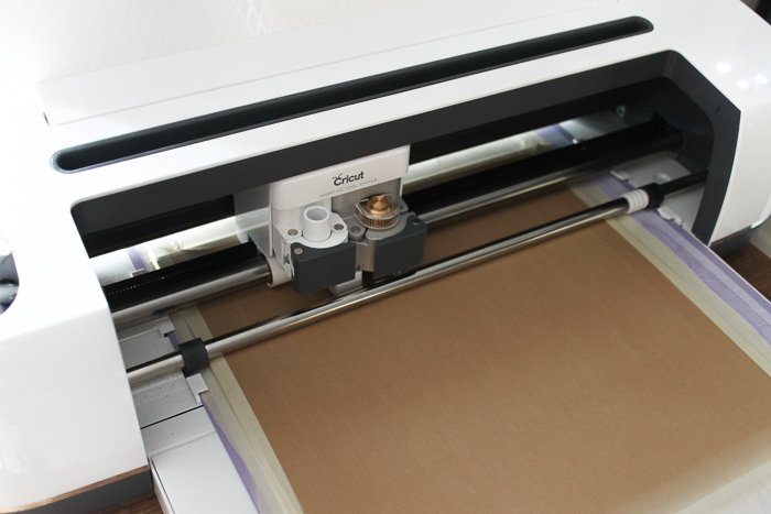 cricut maker cutting chipboard