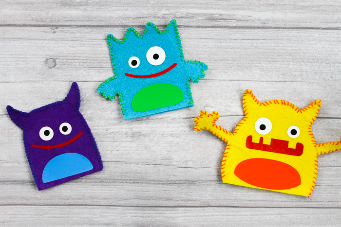 monster puppets to give for halloween