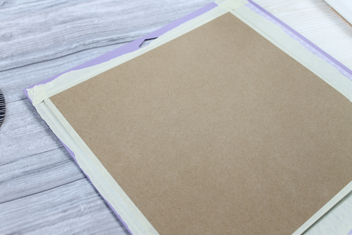 chipboard on a strong grip mat