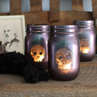 Halloween Lanterns:  Testors Crafternoons