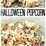 Make this Halloween popcorn recipe for parties or trick or treaters! Such a fun Halloween snack idea! #halloween #snack #recipe