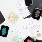 Make Your Own Stamp with Hot Glue
