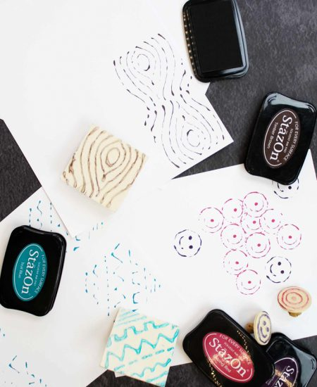 designs for hot glue stamps