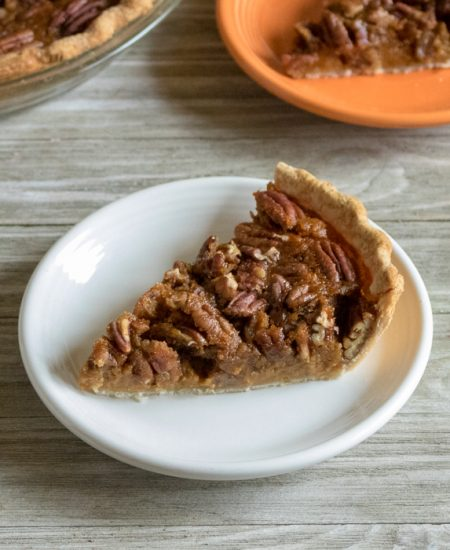 pecan pie made with pumpkin