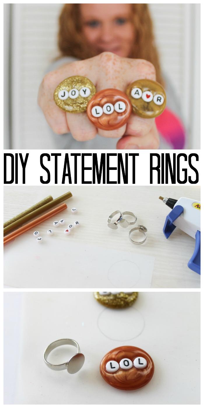 diy statement rings