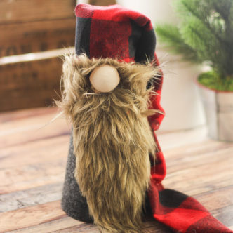 Christmas Gnome:  Make Your Own Scandinavian Gnome