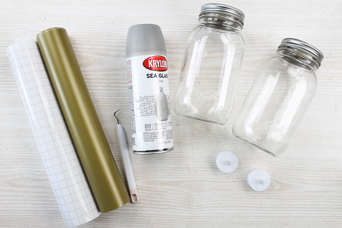 supplies for mason jar craft
