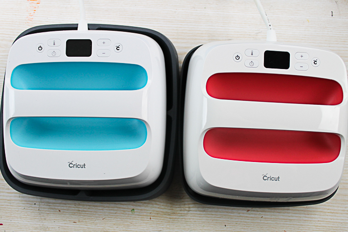 Comparing the Cricut EasyPress versus EasyPress 2. What are the differences? Which EasyPress is right for you? #cricut #cricutmade #cricuteasypress
