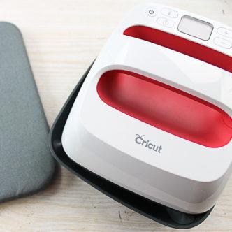cricut easypress on a table
