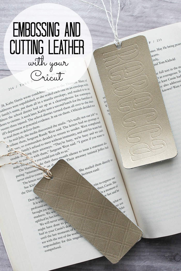 Cutting and embossing leather with the Cricut Maker. Which Cricut Machine is right for you? We are looking at the Cricut Maker versus the Cricut Explore Air 2. What are the features of both? The differences? The benefits? We have all of that and more! #cricut #cricutmade #cricutmachine #crafts #diy