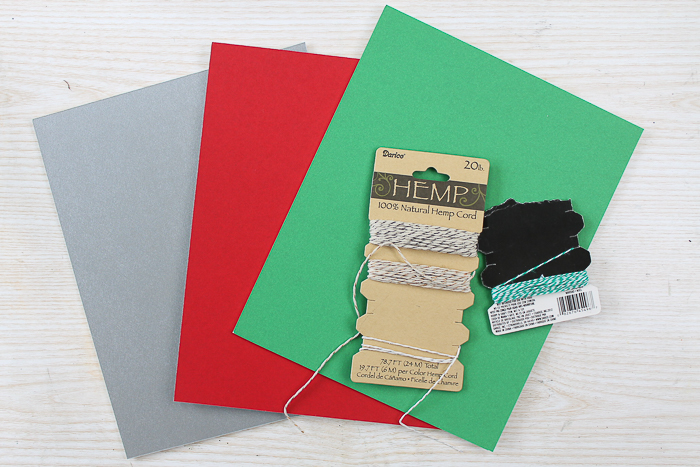 Supplies to make frame ornaments including mat board.