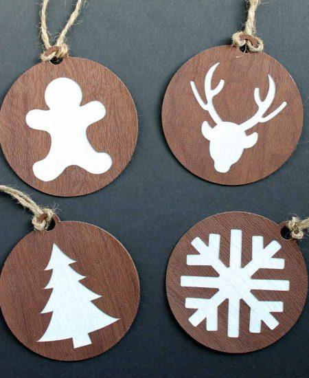 cricut handmade ornaments