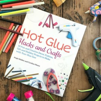 Hot Glue Hacks and Crafts Autographed Copies and a Giveaway