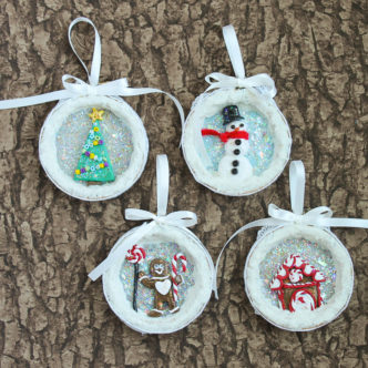 How to Make Christmas Ornaments from Clay