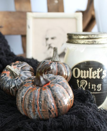 resin pumpkins for halloween