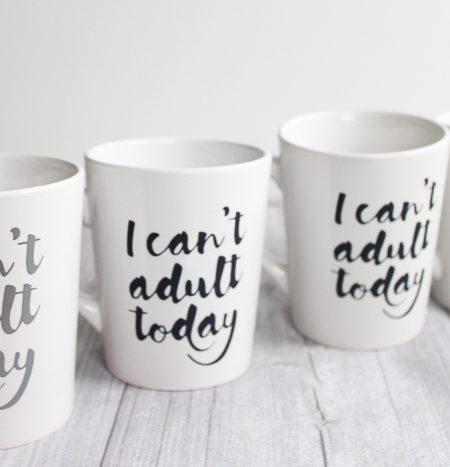 htv on a mug
