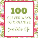 Organize Your Life:  100 Clever Solutions