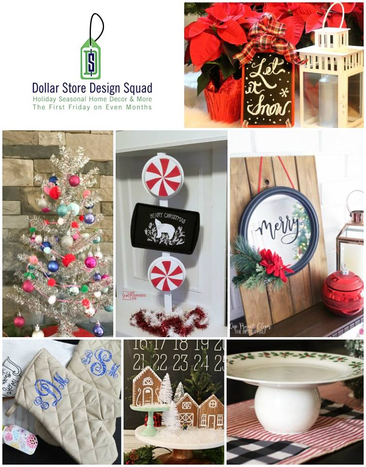 Make these Christmas crafts from the dollar store! #christmas #dollarstore