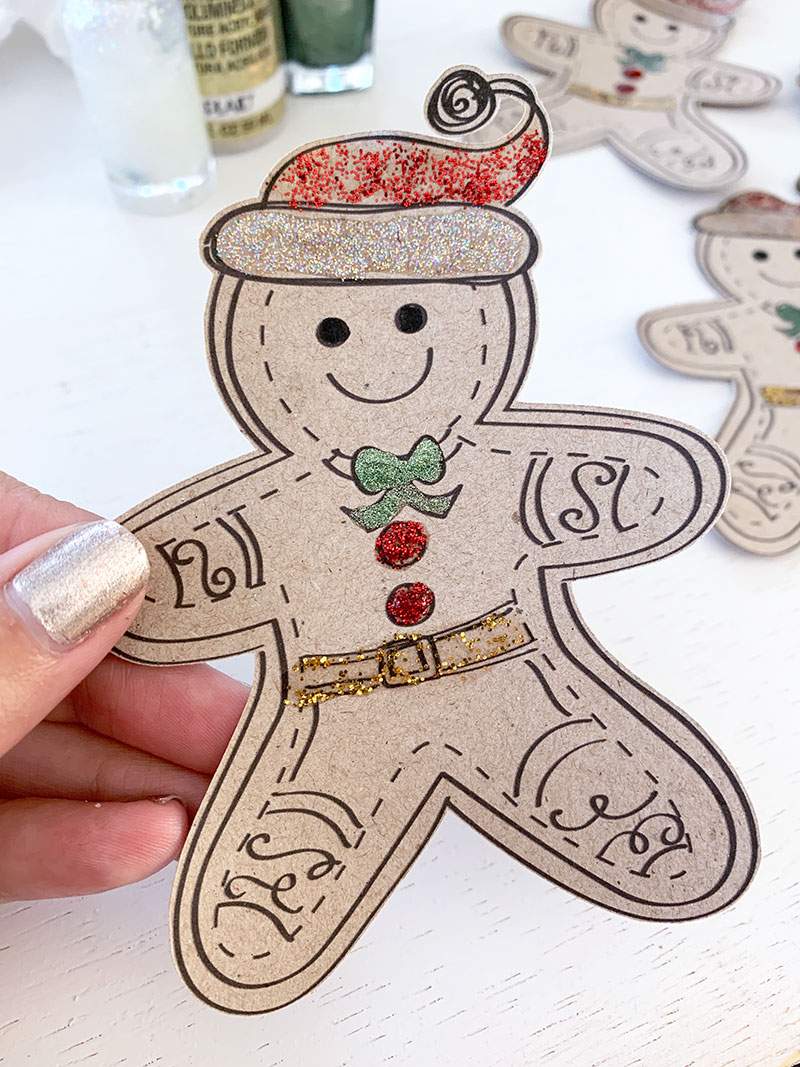 paper gingerbread man