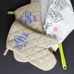 Monogram Ideas:  Gifts from the Dollar Store