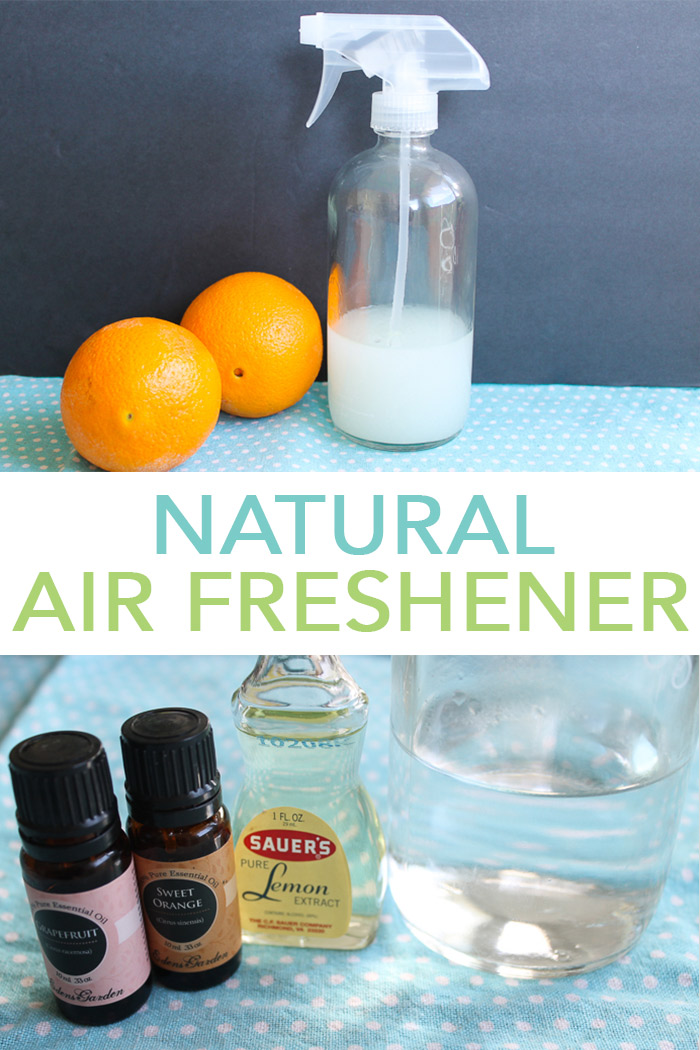 Make this natural air freshener with just a few ingredients and use it around your home! #natural #allnatural