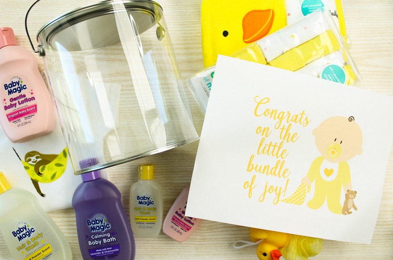 Baby shower gift supplies needed