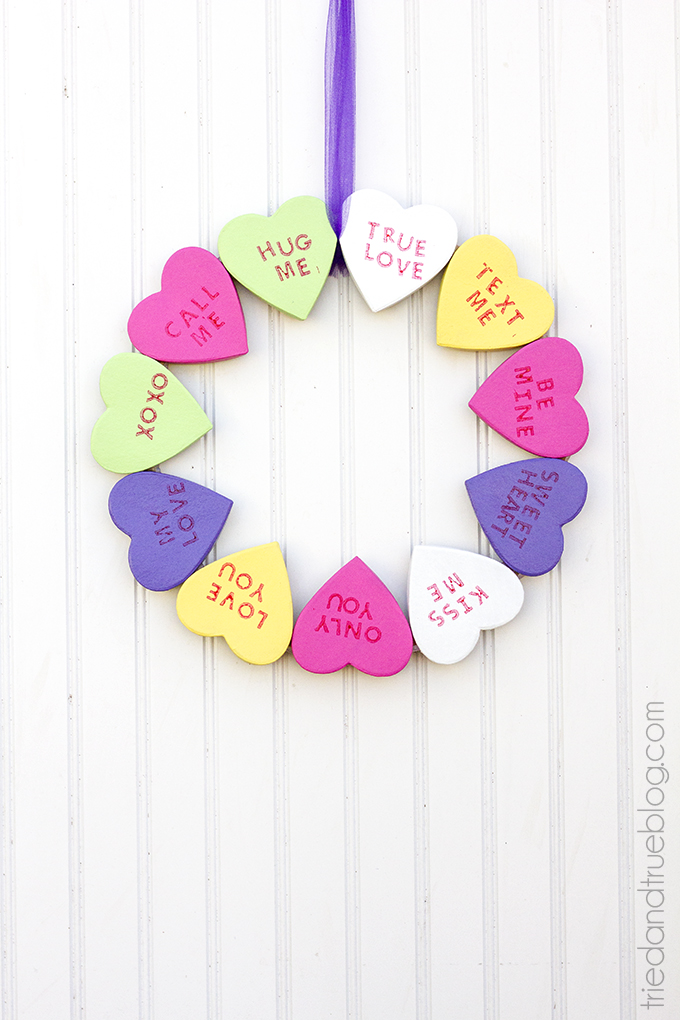 valentine\'s day wreath