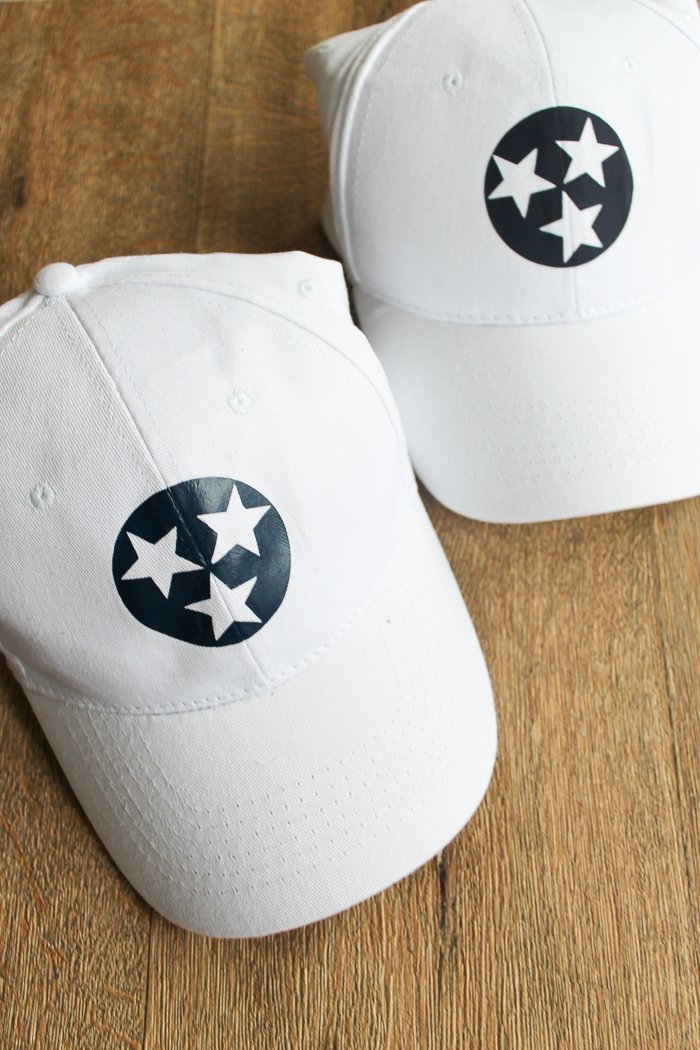 I test three different methods for using heat treat vinyl to customize hats