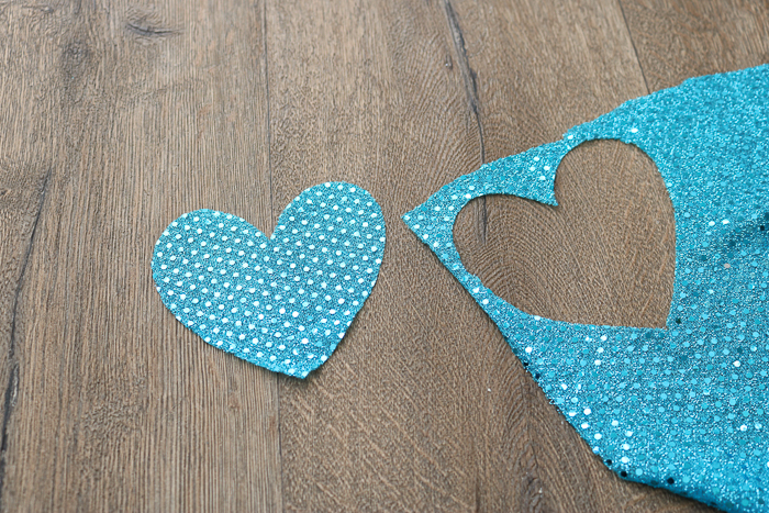 Cutting sequin fabric with the Cricut Maker rotary blade.