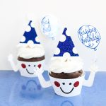 Cupcake Toppers and Wrappers with Your Cricut