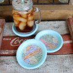 How to Make Coasters with Maps
