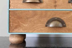 how to refinish ikea moppe