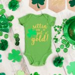 St. Patrick's Day Baby Outfit Free SVG File