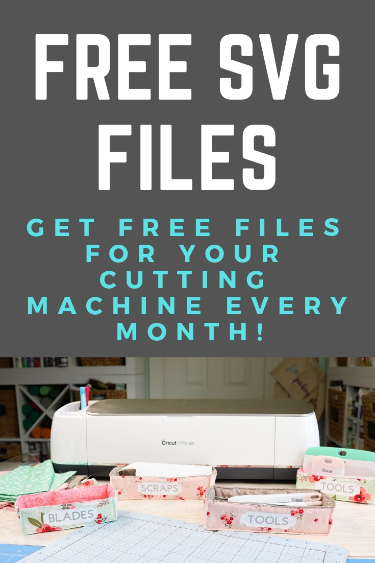 Get free SVG files for your machine every month here! Great cut files for your Cricut or Silhouette to use to make amazing craft projects! #cricut #silhouette #svg #svgfile #freesvg