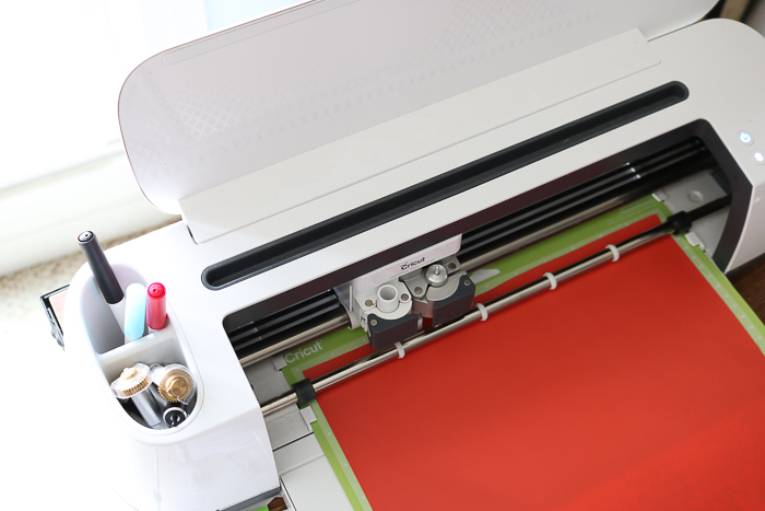Cutting Cricut Iron on vinyl with the Cricut Maker.